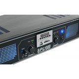 Skytec SPL 1500MP3 Versterker Blauwer LED_