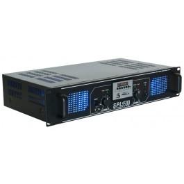 Skytec SPL 1500MP3 Versterker Blauwer LED
