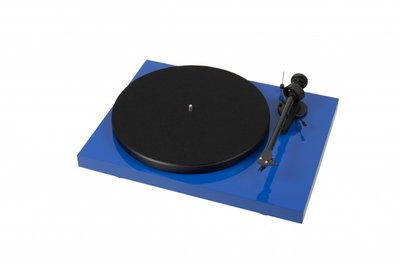 Pro-Ject Debut Carbon DC (OM-10) - Hoogglans Blauw