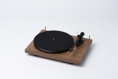 Pro-Ject Debut 3 Recordmaster - Walnoten hout