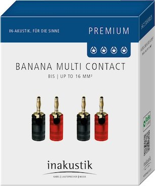 Inakustik Banana Multi Contact