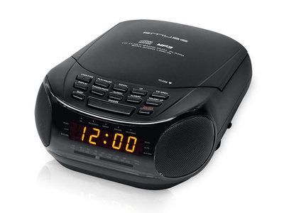 Muse M-125 CRB Wekkerradio met CD speler