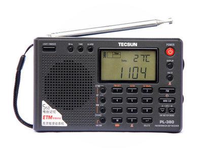 Tecsun PL380 Portable Wereldontvanger